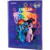 Папка для труда А4, на резинке, Kite My Little Pony ламинированный картон, LP19-213