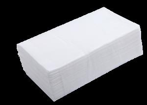 Полотенца целлюлозные V-образные, 160 шт, белые, 2-х слойные
