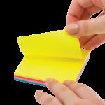 Блоки бумаги с клейким слоем для заметок