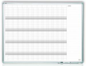 Доска планер магнитный на ГОД 120х90см, рамке ALU23