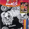 Раскраска с бархатом А3 + 5 фломастеров Pop Pixie PP14-156K