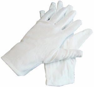 Перчатки официанта, белые хлопковые, пара