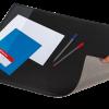 Подкладка для письма 652х512мм черная