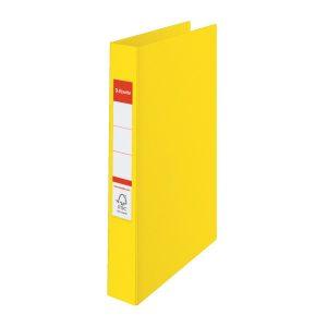 Папка картонная А4 на 2 кольца, 35мм Esselte, ассортимент цветов