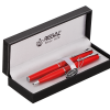 Набор ручек перо+шарик R82205.L.BF в подарочном футляре, красный