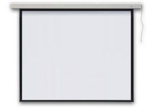 Экран для проектора электрический, настенный PROFI electric