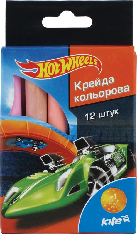 Мел цветной цилиндрический 12шт. Hot Wheels HW15-075K
