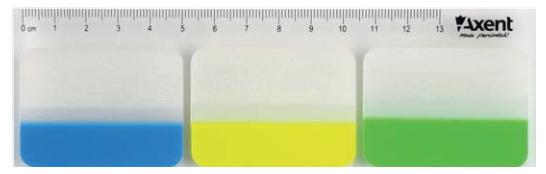 Закладки-разделители пластиковые с клейким слоем 38х45мм, 30шт