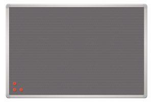 Доска информационная PinMag ТМ 2х3, в серой рамке ALU23,