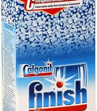 Соль CALGONIT Финиш для посудомоечных машин 1,5кг