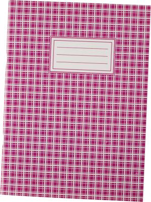 Книга канцелярская А4, 48листов, картонная обложка, клетка