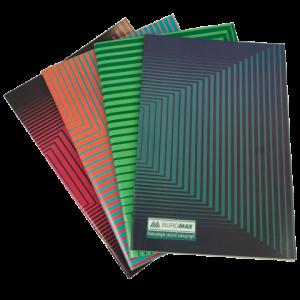 Книга канцелярская А4, 48листов JOBMAX, картонная обложка, клетка