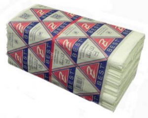 Полотенца-вкладыши Z-Best V-скл. 24,5х23см, 2-х слойн.160шт, белые