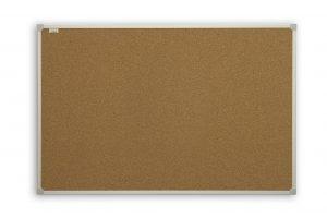Доска пробковая информационная ТМ 2х3, в алюминиевой рамке C-Line