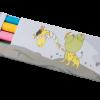 Карандаши цветные 12 цветов трехгранные