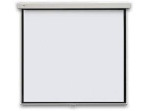 Экран для проектора настенный с фиксацией ECOI manual 177х177см