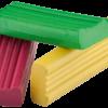 Пластилин 6 цветов, 120г. + стек 12142
