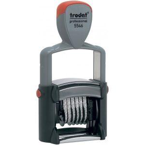 Нумератор металлический 4мм,  6 разрядов, Trodat