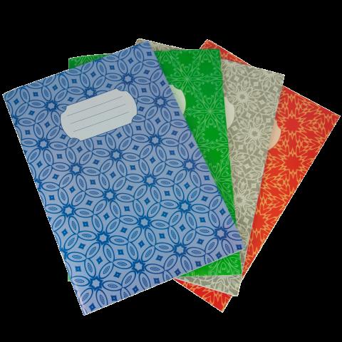 Книга канцелярская А4, 48 листов JOBMAX, ГАЗЕТКА, картонная обложка, клетка