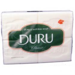 Мыло DURU хозяйственное белое 4шт*125г