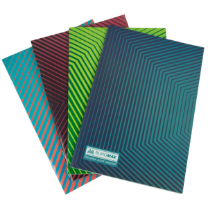 Книга канцелярская А4, 48листов JOBMAX, картонная обложка, линия