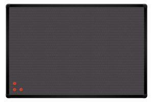Доска информационная PinMag ТМ 2х3, в черной рамке ALU23
