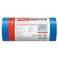 Пакеты для мусора PRO-16112900 35л, 30шт, 8мкм, синие