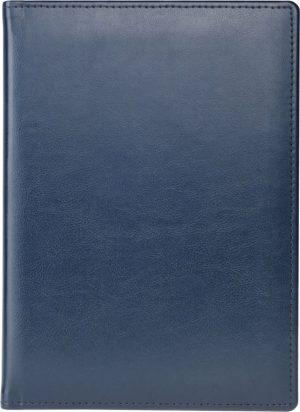 Ежедневник полудатированный SOFT синий