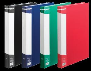 Папка пластиковая А4 с 20 файлами