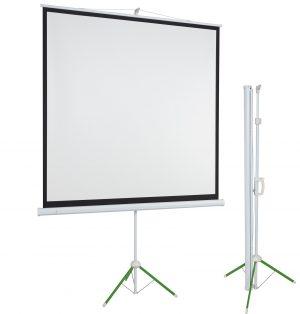 Экран для проектора переносной на треноге ECO tripod mobile