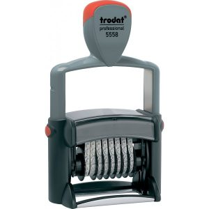 Нумератор металлический 5мм,  8 разрядов, Trodat