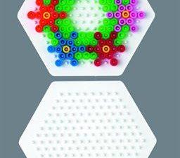 """Поле для термомозаики HAMA """"Маленький шестиугольник"""" 5+"""
